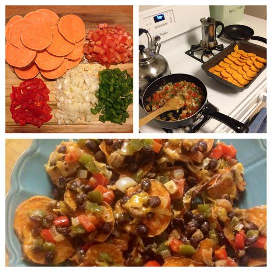 Recently tried out Susie's sweet potato nachos and it is seriously in the Top 5 best things I've ever made in my kitchen -- make these!